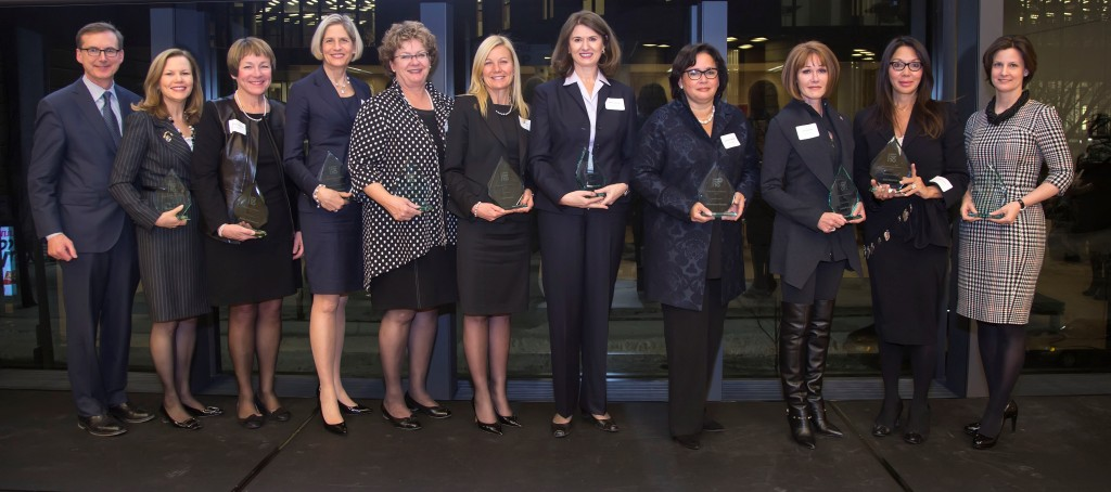 WIMA Top 10 Award Winners with Dean Tiff Macklem
