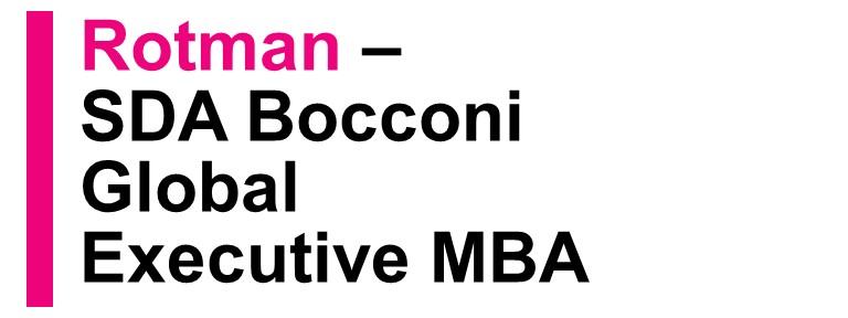 Rotman — SDA Bocconi Global Executive MBA